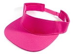 Flatbill Wholesale Blank Snapbacks Caps Visor - Hot Pink