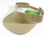 Flatbill Wholesale Plain Snapbacks Hats Visors - Khaki