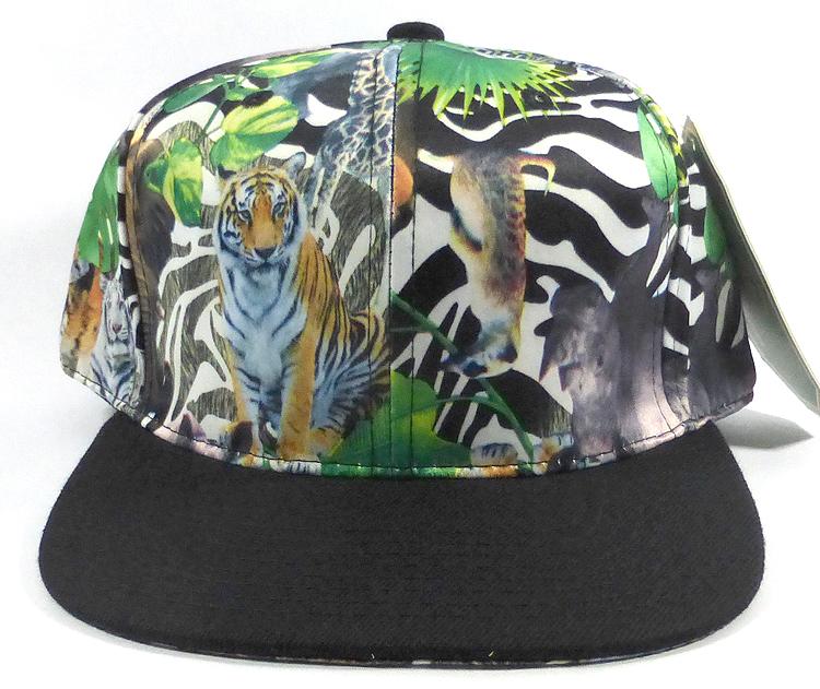 0ab7331bffa3e Wholesale Plain Animal Print Snapbacks Caps - Wild Animals