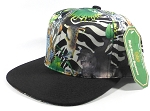 Wholesale Plain Animal Print Snapbacks Caps - Wild Animals | Black Brim
