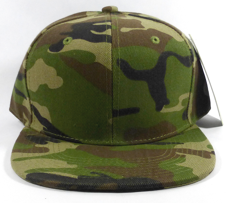 Wholesale Blank Snapbacks Hats Cap - Camouflage   Camo df630ff5d82
