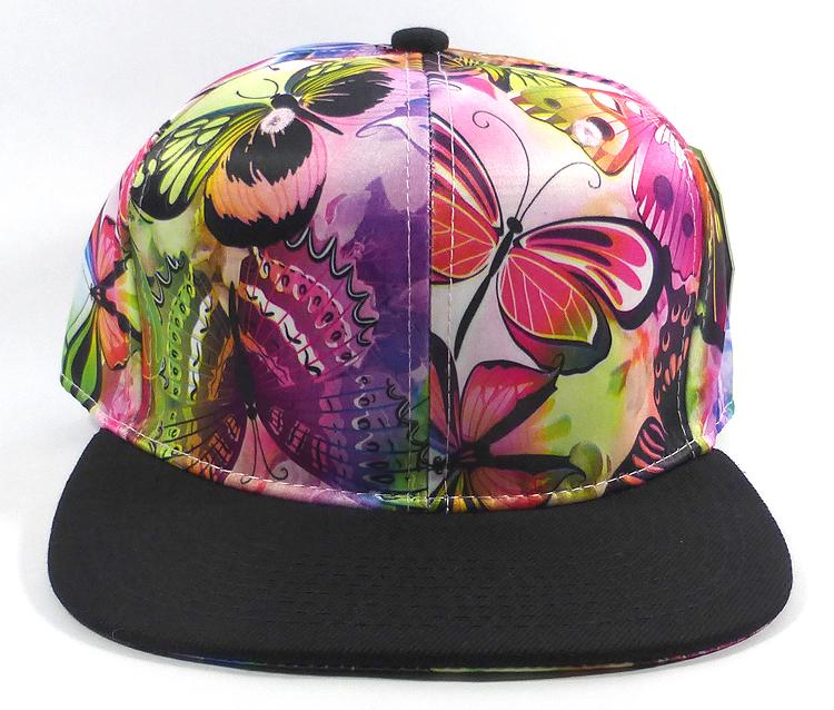 wholesale blank snapback flower rose butterfly caps ec463625545