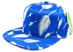 Wholesale Plain Snapbacks Hats | Feathers Blue - Solid