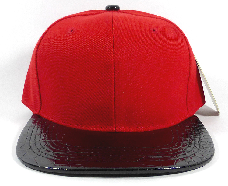 Red and Black Hats