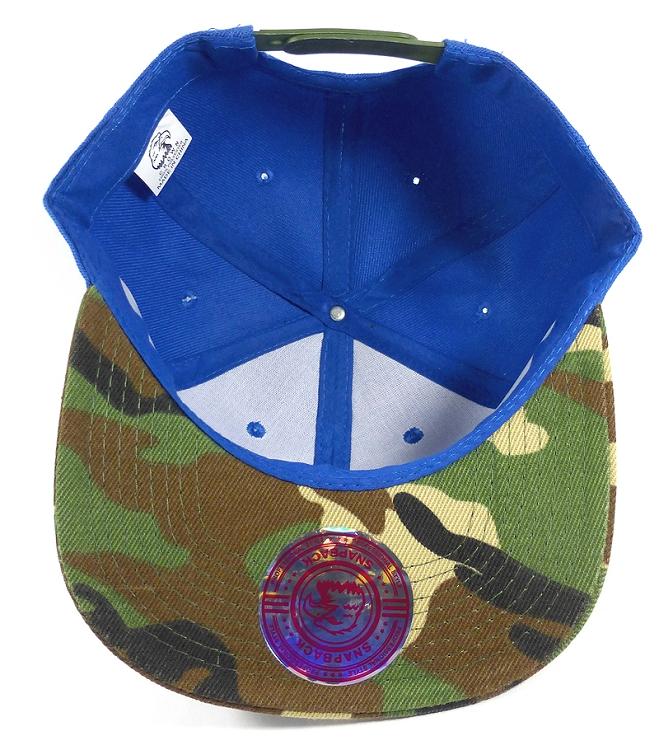 23e52d96c88cd Wholesale Blank Snapback Hats Caps - Blue