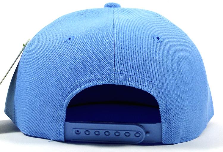 8c1f23d8615 Blank Snapback Hats Caps Wholesale - Solid Sky Blue. Flatbill Solid Snapback
