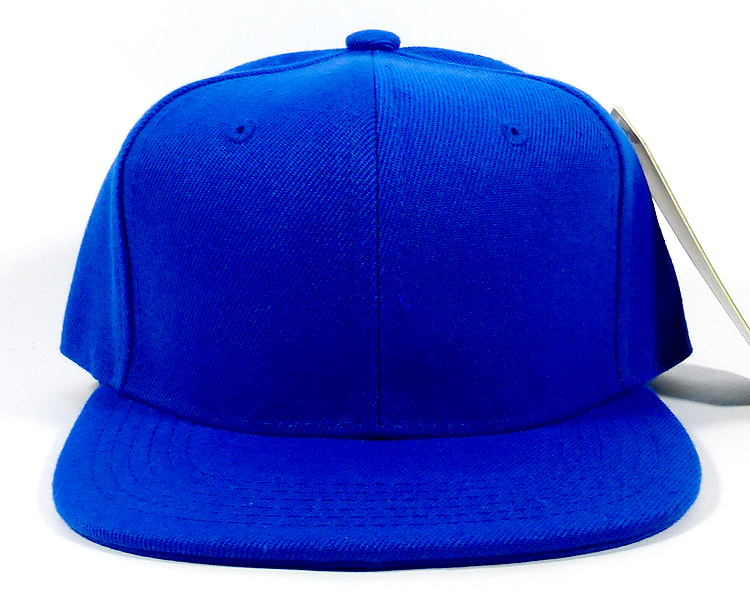 Kids Blank Kids Jr Snapbacks Hat Wholesale Royal Blue