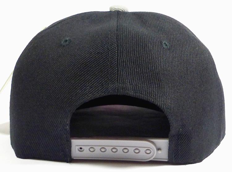 KIDS Jr. Blank Snap back Hats Wholesale - Two Tone - Black  2f4a26e44e54