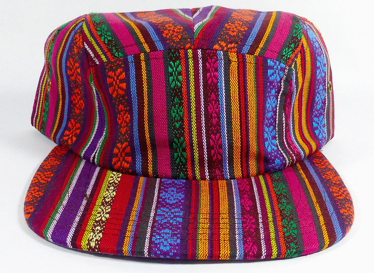 42262ed03fe Wholesale Blank 5-Panel Aztec Camp Hats Caps - Vertical Multicolor Symbols. 5  Panel Strapback Cap - Aztec