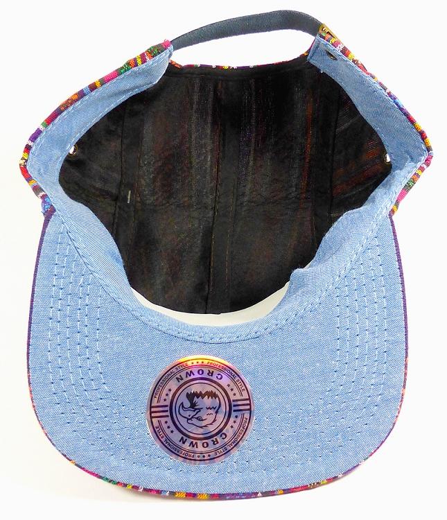 d78ac5baea9 Wholesale Blank 5-Panel Aztec Camp Hats Caps - Vertical Multicolor Symbols