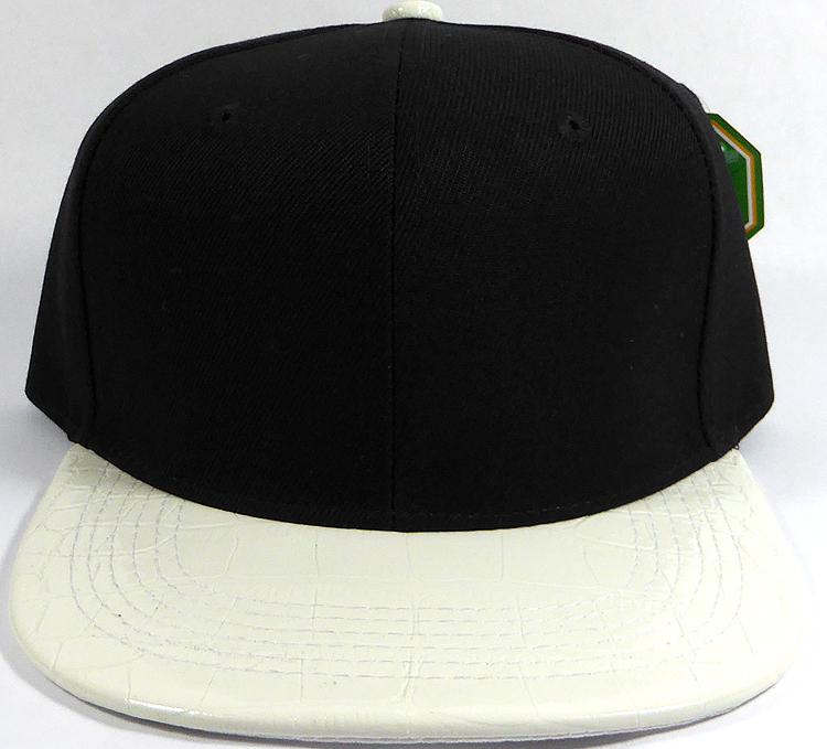 Wholesale Faux Blank Alligator Skin Snapback Caps  8a73baca967