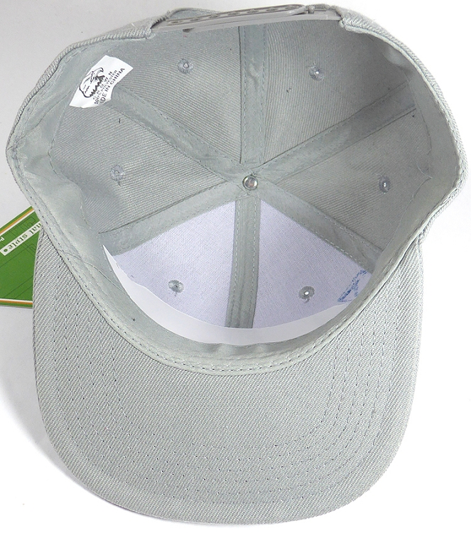 d3de625a536 Kids Blank Snapback Hats Wholesale - Light Grey. Junior Two Tone Snapback  Hat