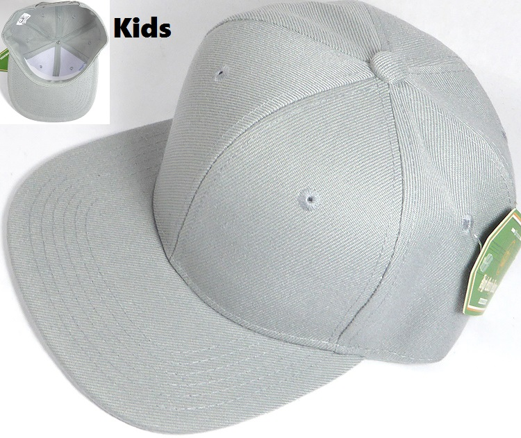 2e08b24187b Wholesale Junior Snapback Hats Blank Kids Caps in Bulk