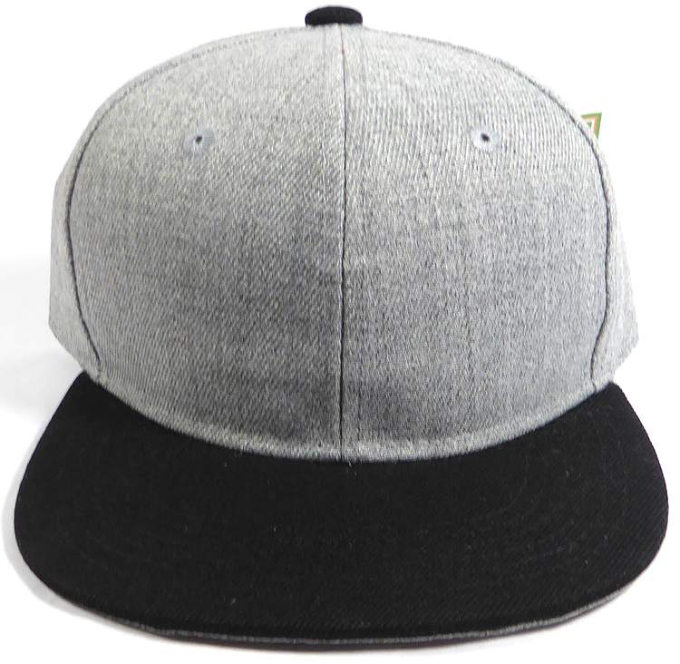 Wholesale Blank Snapback Cap - Denim Light Grey Indigo - Two Tone ... 52546af22e7