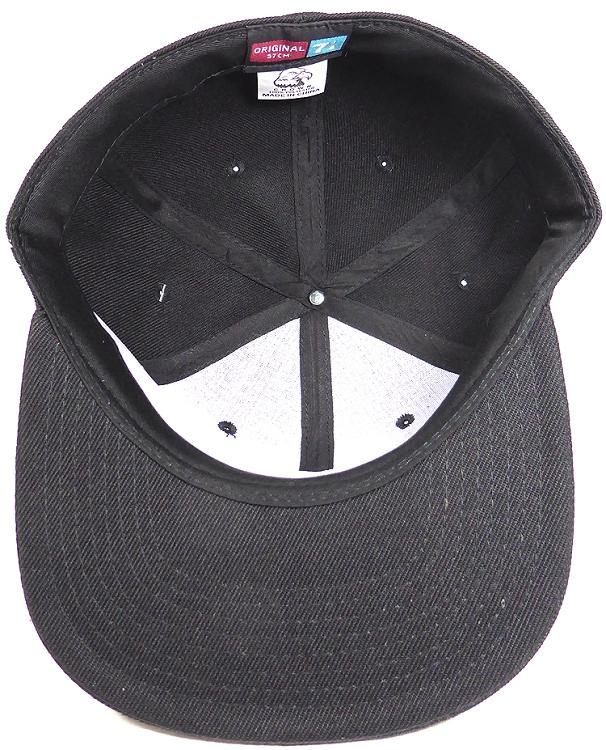 """Plain Brown Flat Peak Fitted Baseball Cap 7 1//8/"""""""