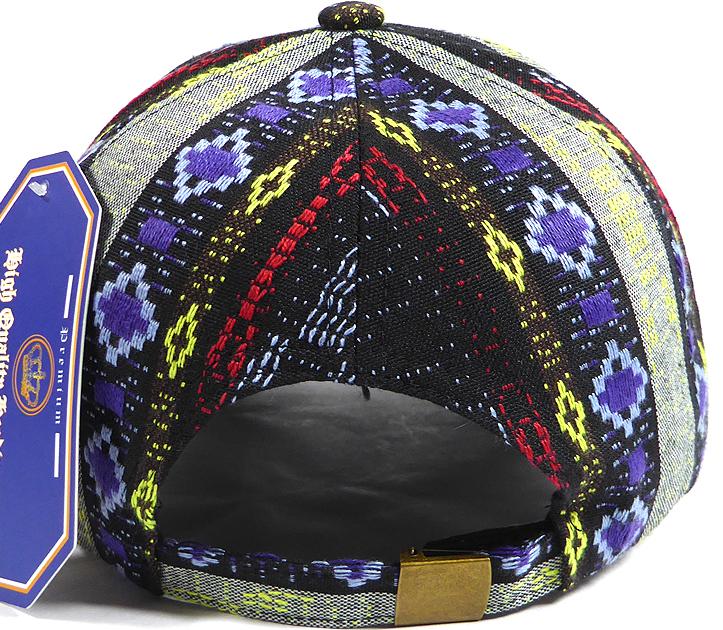 BACK ORDER ONLY  Wholesale Dad Hat - Aztec - Navy Diamond. Blank Designed  Baseball Cap a980eaab4def