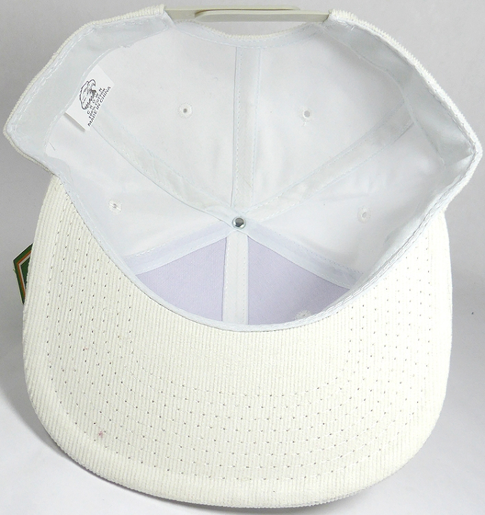 a0d1c0433 Wholesale Corduroy Blank Snapback Caps - Solid - White