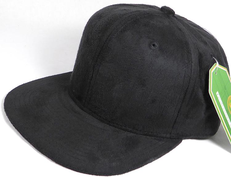 Wholesale Blank Suede Black Snapbacks Hats Caps in Bulk 9c51b3558fb