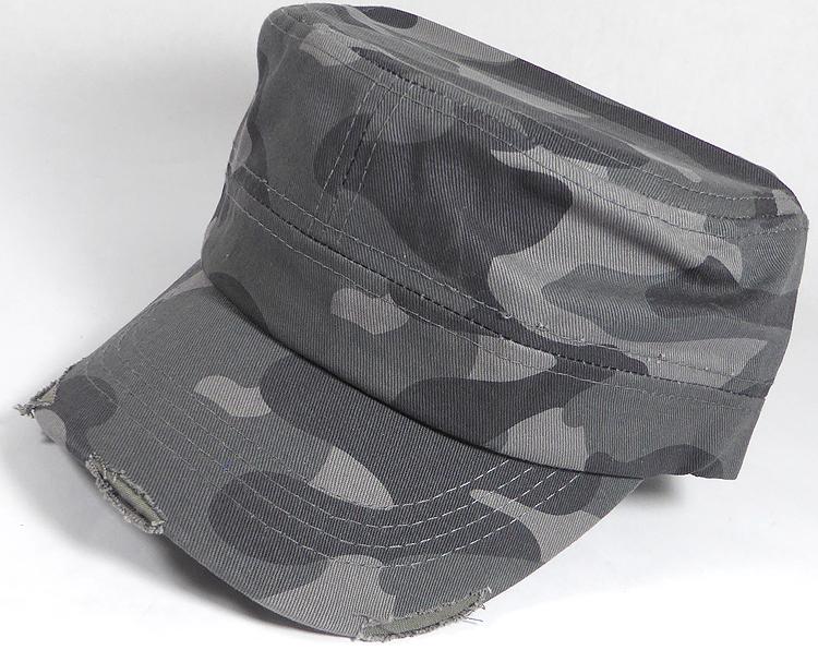 48a12b26442 Wholesale Blank Plain Camo Cadet Caps for Unisex - Vintage ...