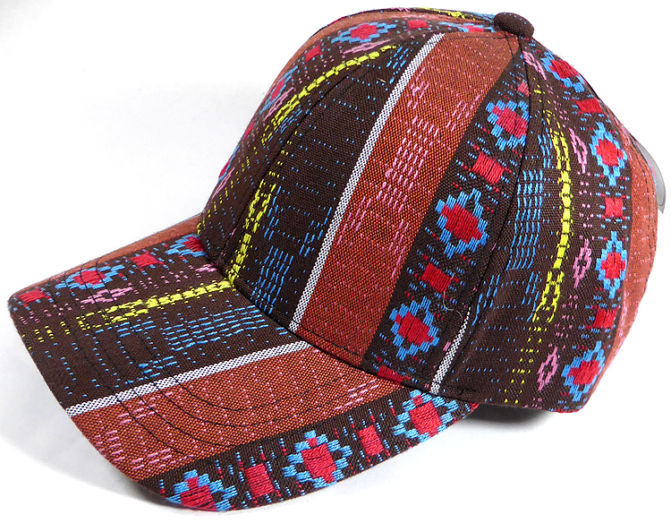 BACK ORDER ONLY  Wholesale Dad Hat - Aztec - Brown Diamond. Blank Designed  Baseball Cap a2be16d3d088
