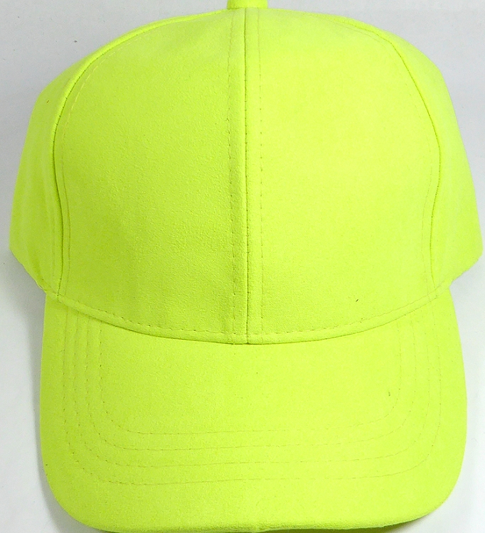 eb9cac864c3 Suede Dad Hats Whole Blank Baseball Caps Slider Buckle Neon