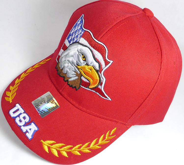 Wholesale USA American Flag and Eagle Baseball Caps Hats Bulk Sale ... 7b1c2f7006d