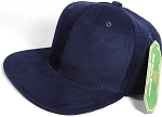 Wholesale Corduroy Blank Snapback Caps - Solid - Dark Navy