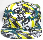 Wholesale Blank Modern Art SnapBack Hats - Solid