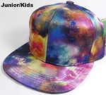 KIDS Jr. Galaxy Snapback Caps Wholesale - Supernova - Solid