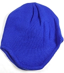 Winter Ear Flap Beanies Hats Wholesale  - Royal Blue