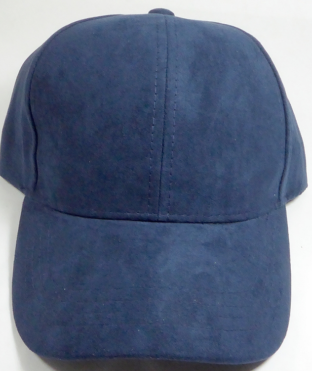 6d71593d6e2 Suede Dad Hats Wholesale Blank Baseball Caps - Slider Buckle - Navy