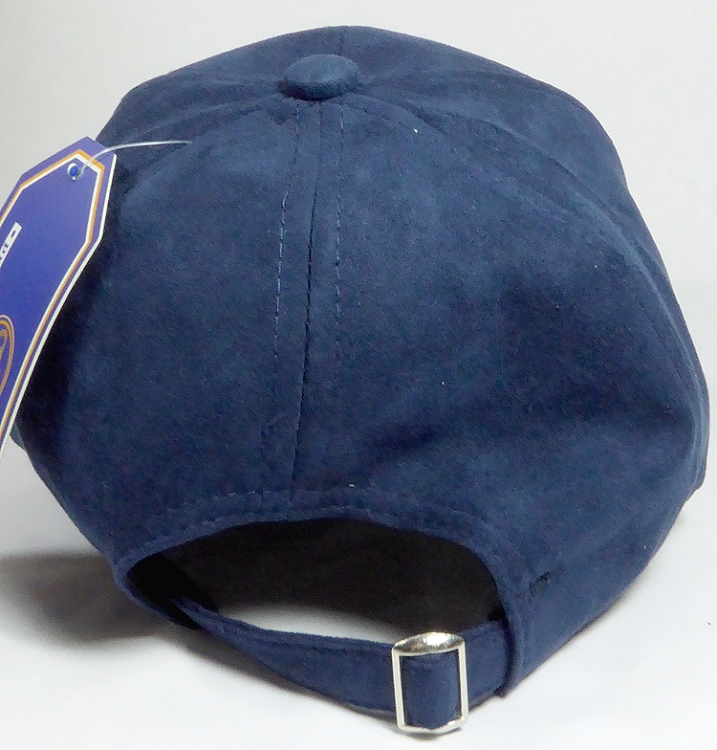 aefdd52a799 Suede Dad Hats Wholesale Blank Baseball Caps - Slider Buckle - Navy
