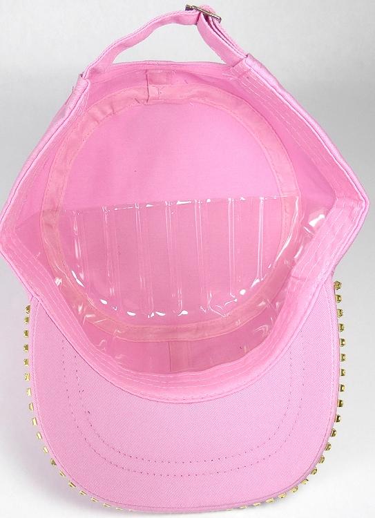 e3e88f1aa77d6 ... Wholesale - Light Pink. Bling Blank Cadet Cap