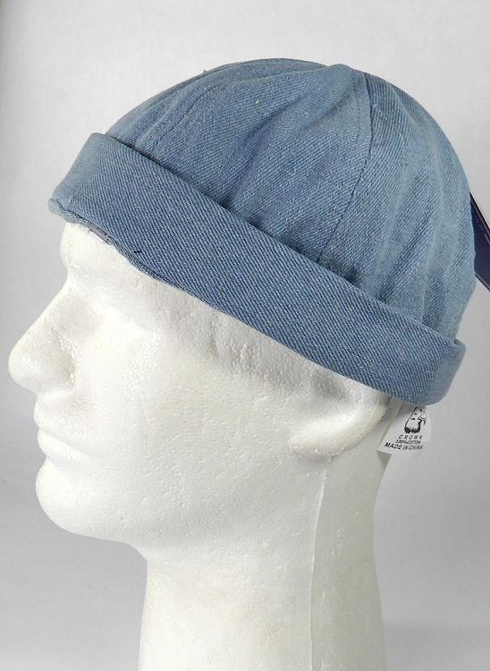 Wholesale Brimless Cap - Light Denim 91c21b617d9