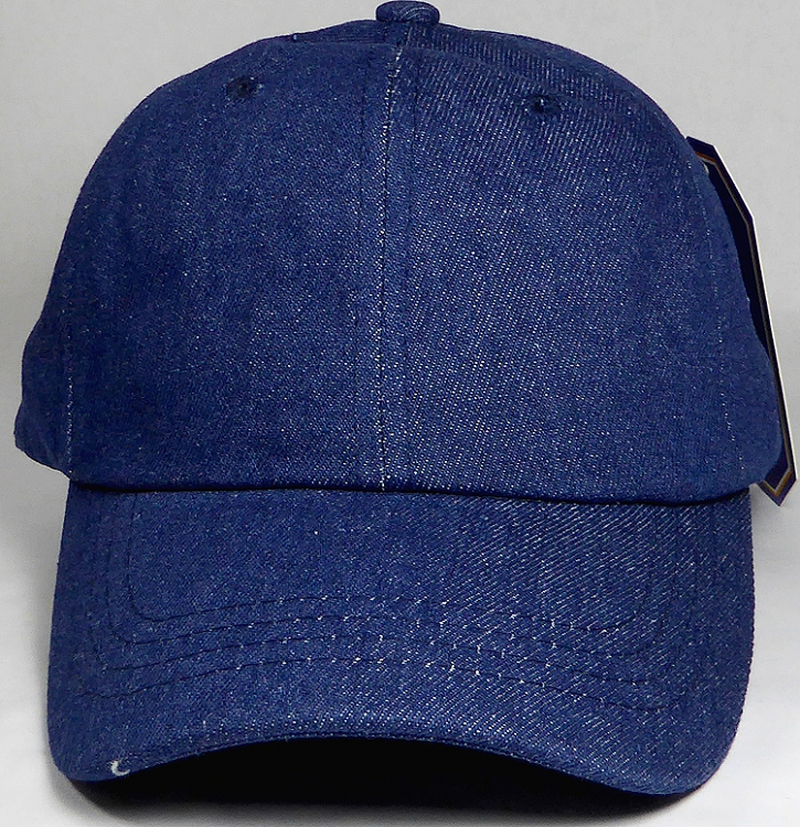 df38bcf40f101 Wholesale Dad Hat - Baseball Blank Caps - Dark Stone Denim ...