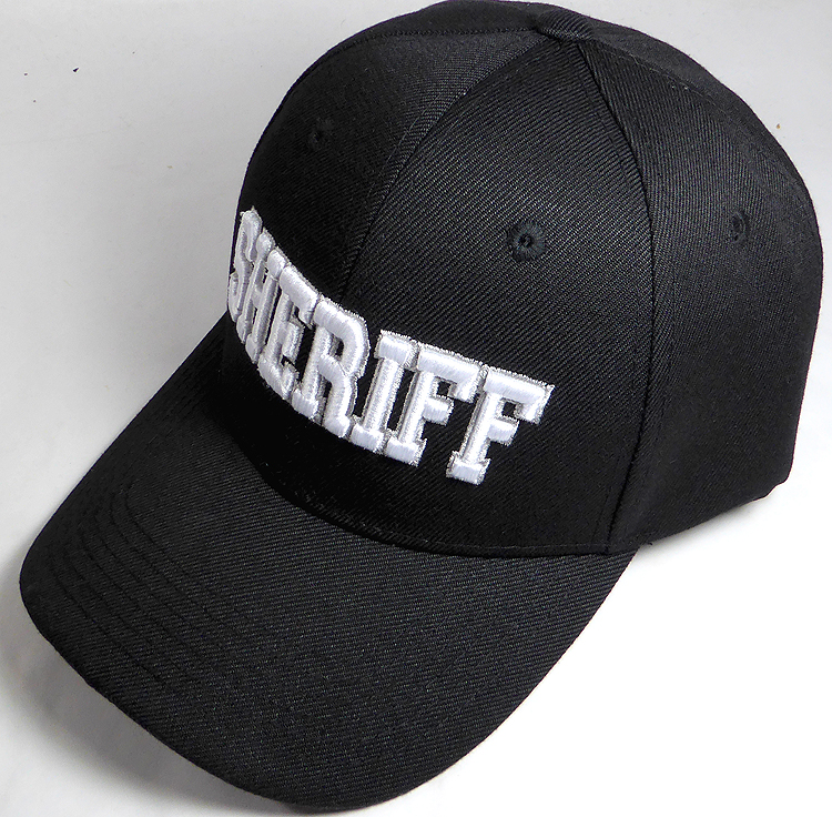 0fed933ebeee2 Law   Order Hat - Sheriff Logo Ball Cap Wholesale Sheriff Police ...