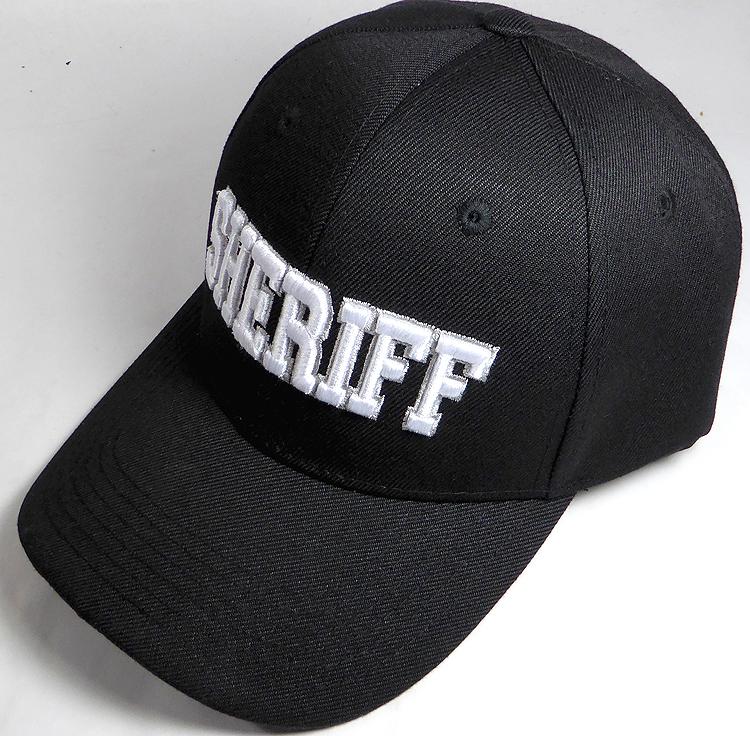 782f6fd085b25 Law & Order Hat - Sheriff Logo Ball Cap Wholesale