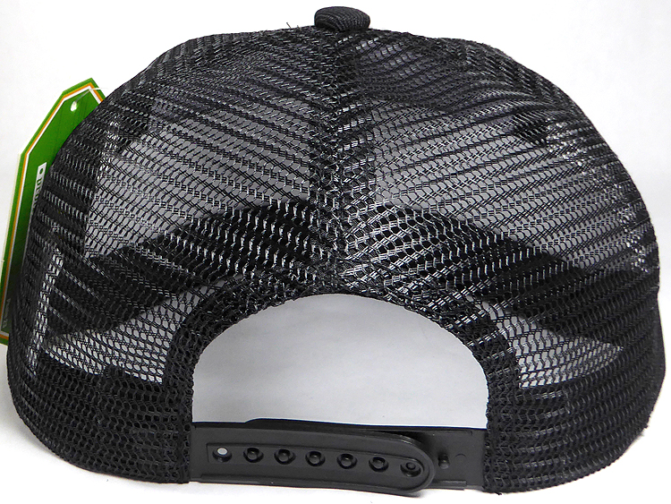 Wholesale Mesh Trucker 5 Panel Snapback Blank Hats - Solid - Black 925f235e268
