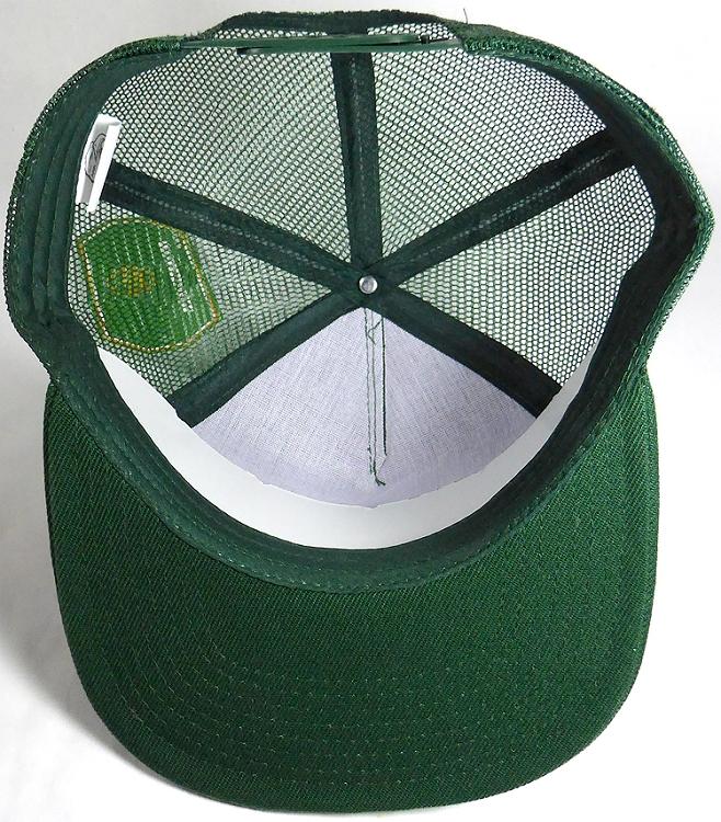 a62ad624 Wholesale Mesh Trucker 5 Panel Snapback Blank Hats - Solid - Dark Green.  Solid Trucker Mesh Hat