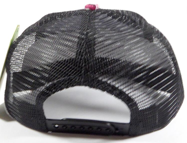 d16fd716817be Wholesale Mesh Trucker 5 Panel Snapback Caps - Rose - Black Crown. Trucker  Mesh Snapback - Black Rose