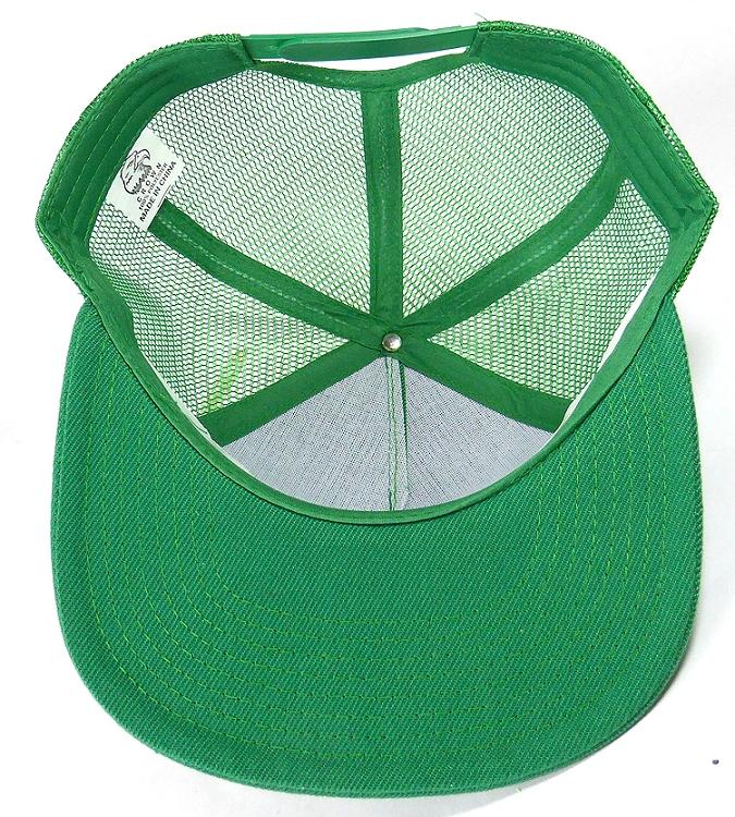 e4f54398 Wholesale Mesh Trucker 5 Panel Plain Snapback Hats - Kelly Green