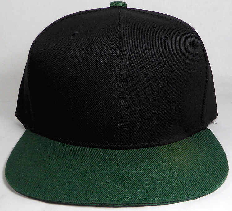 65c520ca3659b Wholesale Blank Snapback Hats   Caps Two Tone - Black