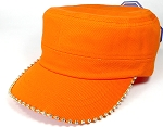 Bling Blank - Cadet Caps Wholesale - Orange
