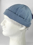 Wholesale Brimless Cap - Light Denim