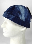 Wholesale Brimless Cap - Splash Dark Denim