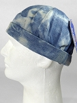 Wholesale Brimless Cap - Splash Light Denim