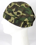 Brimless Docker Cap Wholesale - Wash Cotton - Camo