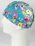 Brimless Docker Cap Wholesale - Rose - Turquoise
