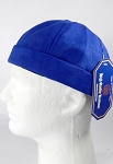 Wholesale Brimless Cap - Suede Royal Blue