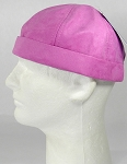 Wholesale Brimless Cap - Suede - Hot Pink